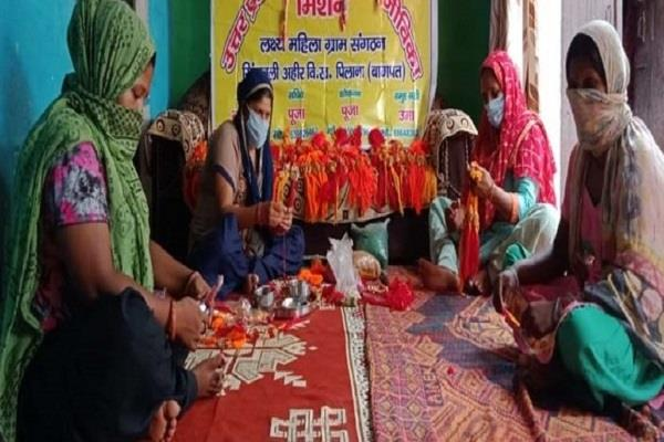 prerna rakhi  made by women of self help group became popular
