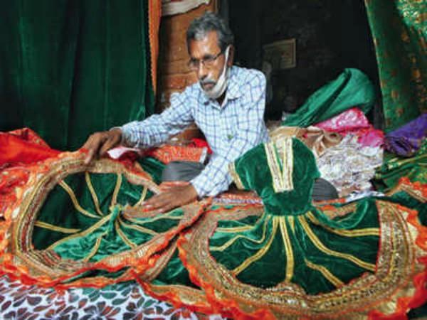ramlala will wear navratna stitched clothes on bhoomi pujan