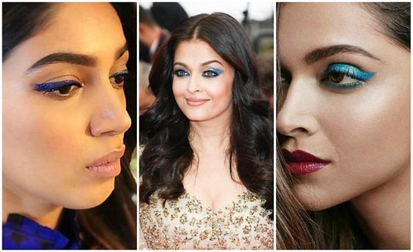 Makeup Trend! मानसून में ट्राई करें ब्लू आई लाइनर( See Pics)