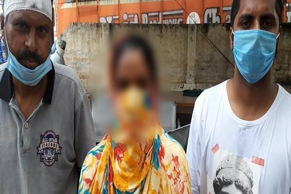 beaten woman in ludhiana