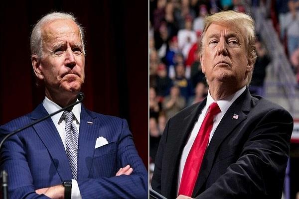 trump accelerates efforts to put himself better than biden presidency