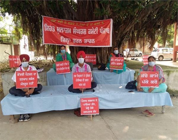 hunger strike continues for third day on behalf of health workers