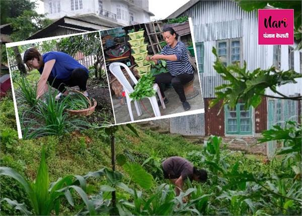 नागालैंड के लिए वरदान बना लॉकडाउन, घर पर सब्जियां उगा कर रहे कमाई