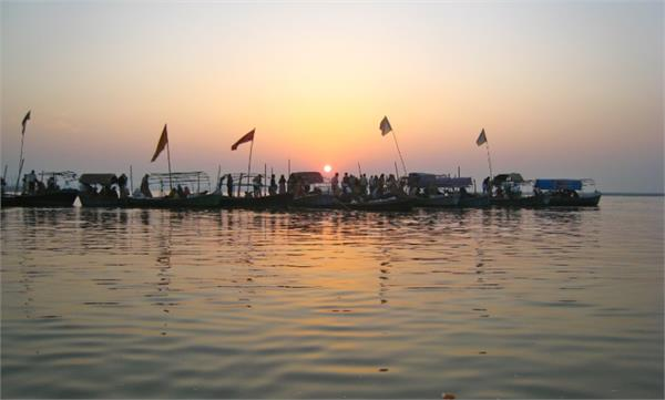water and soil from the confluence taken for land worship in ayodhya