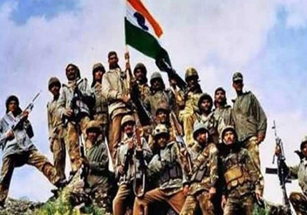 salute to soldiers on kargil victory day