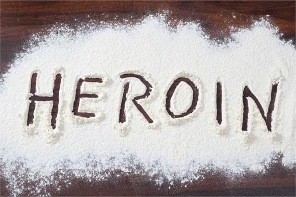 woman controlled with 10 grams of heroin