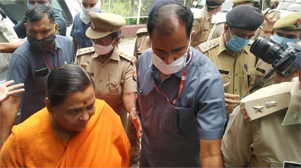 babri case uma bharti appeared in cbi court told herself innocent