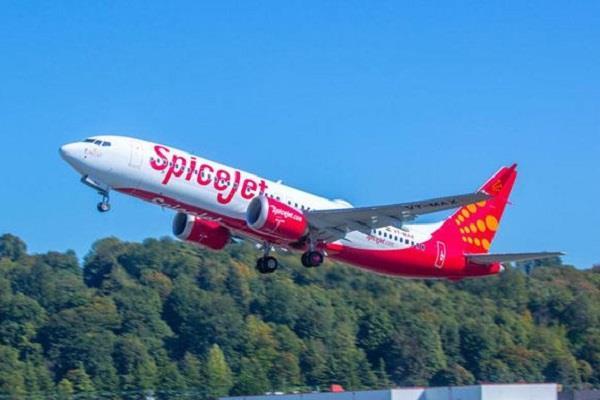 spicejet got permission to fly in this country