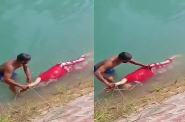 heartbreaking video goes viral on social media