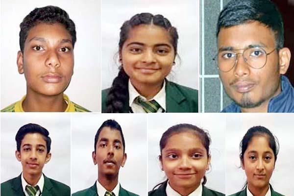 students of guru nanak public school dalhousie shined in 10th exam
