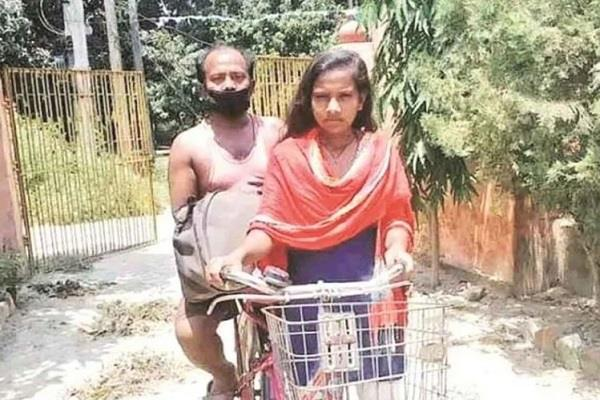 cycle girl jyoti s father engages in legal dispute