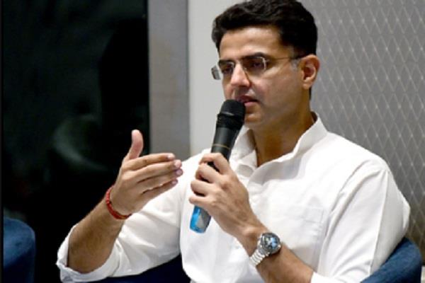 there was a split in rajasthan congress as soon as sachin pilot was removed