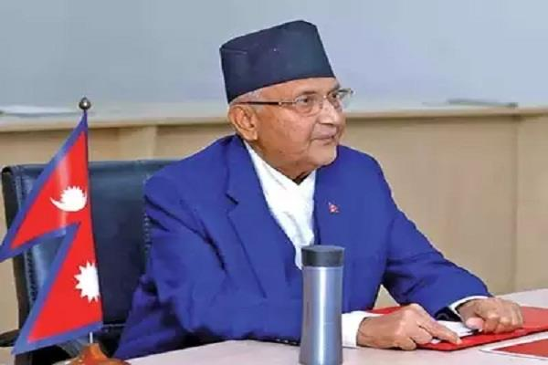 nepali was spoiled by pm kp sharma told lord ram