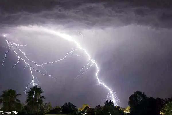 4 day sky lightning warning in himachal