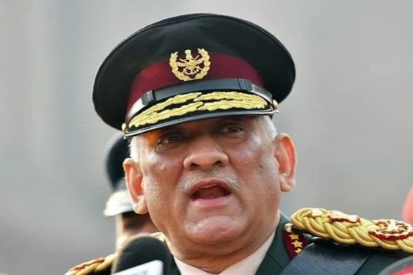 cds bipin rawat will visit leh today take stock of the situation on lac