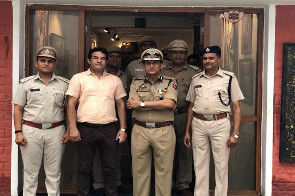 dgp prison visit jails in kashmir
