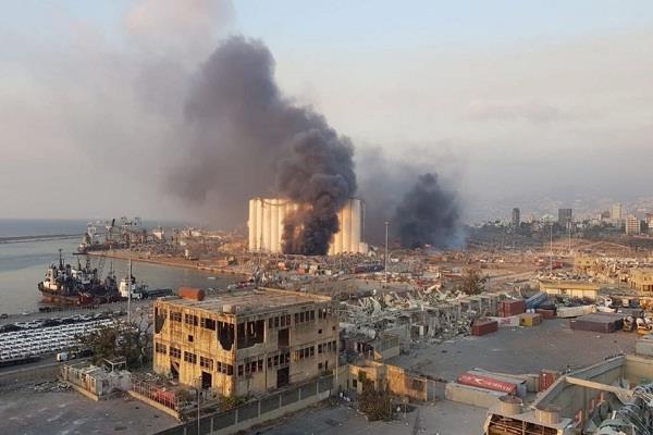 horrific explosion in beirut capital of lebanon 78 deaths