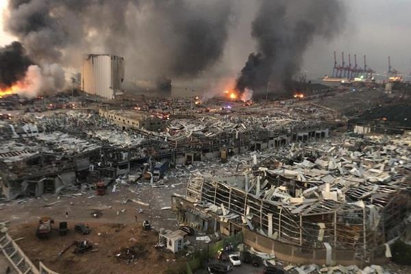 beirut the capital of lebanon was devastated by the horrific explosion