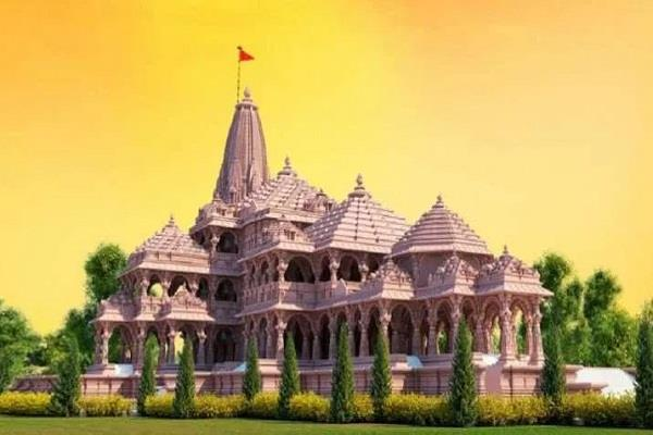 lord ram s grand temple to be eighth wonder of the world