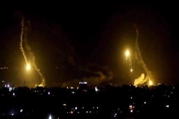 three rockets hit near baghdad airport