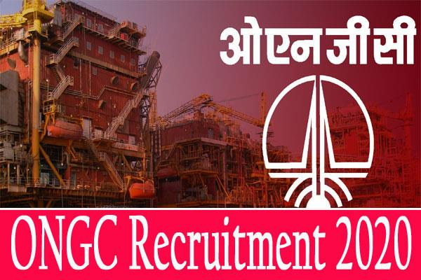 ongc recruitment 2020 online application for 23 posts