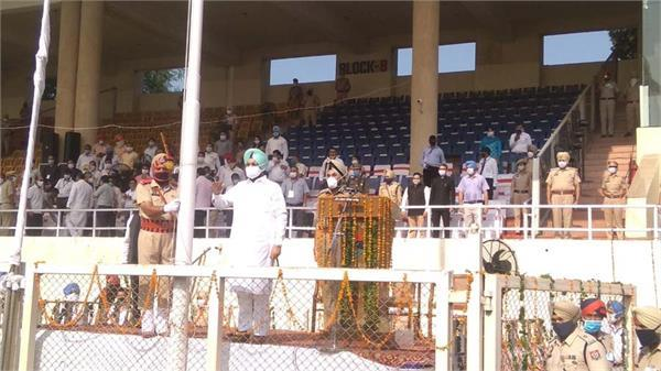 jail minister sukhjinder singh randhawa unfurls tricolor in jalandhar