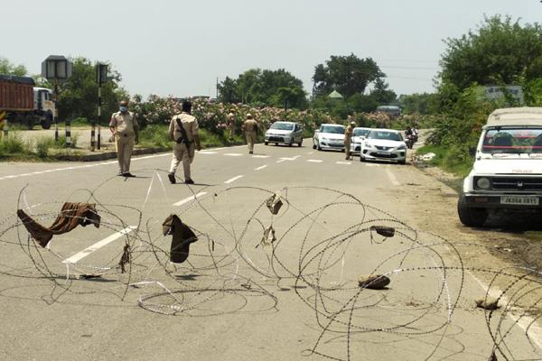 144 section imposed in lakhanpur