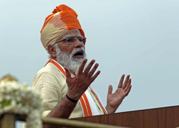 pm modi mentioned sanitary napkin from red fort