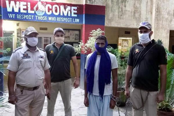 accused in rape case arrested in samba