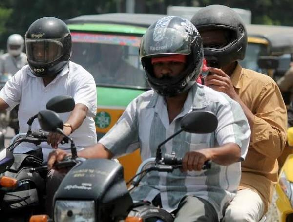 invoice can be cut even after wearing helmet