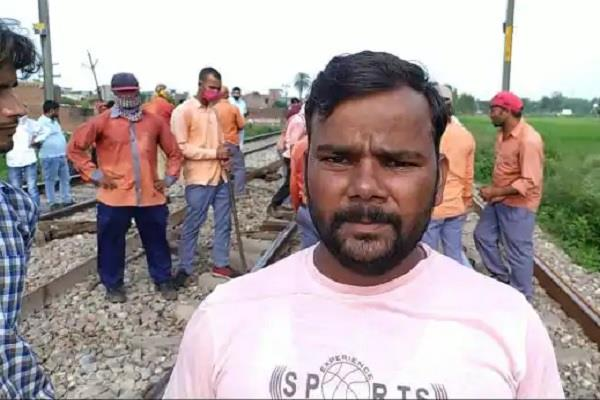 big rail accident averted from the understanding of the villagers