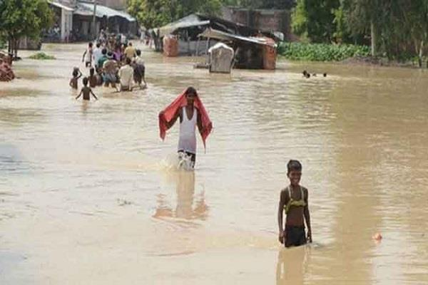 two more people died in floods in bihar