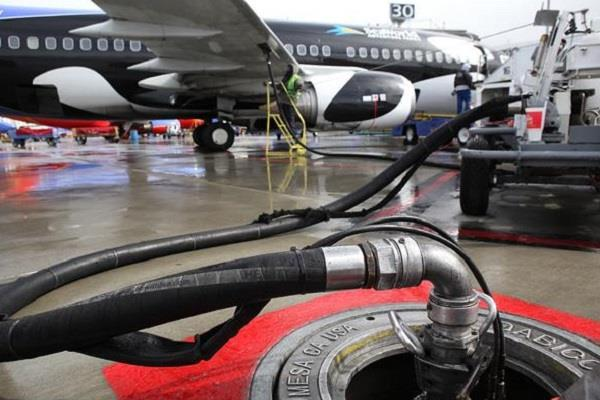 aircraft fuel became expensive by three percent