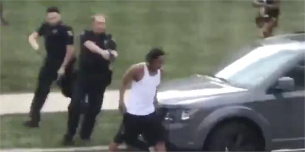 us black man shot seven times in back by police
