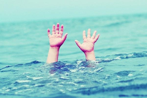 two children drowned in a pond in supaul