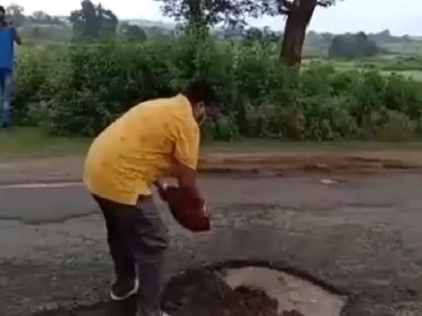 the condition of roads in mp is crispy