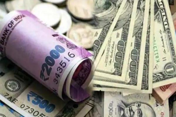 rupee reaches six month high against dollar