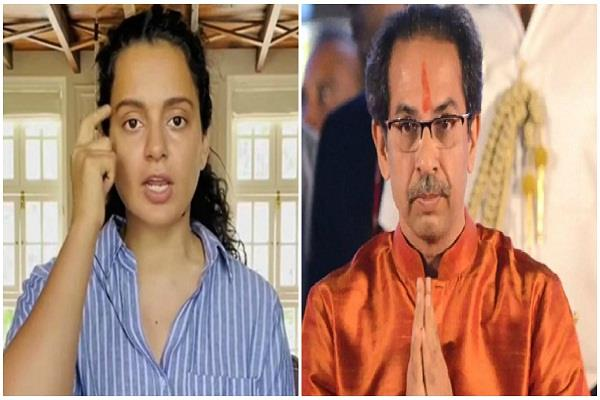 kangana ranaut slapped on uddhav thackeray in sushant case