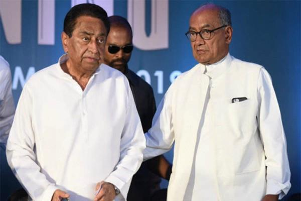 congress mp objection to kamalnath and digvijay on bhumi pujan