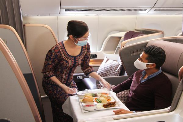 food will be served again during the flight strictly against those