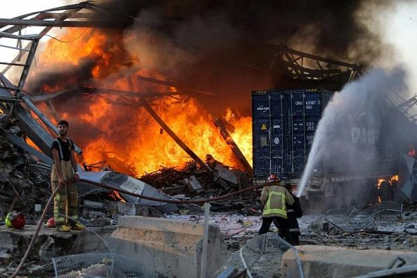 2 750 tons of chemicals detonated in beirut blast