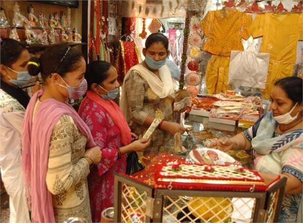 unlock punjab rakhi shows glow in the markets faces of shopkeepers