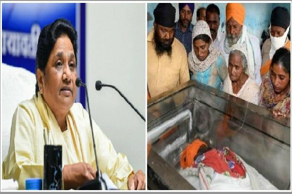 100 people died in punjab due to poisonous liquor mayawati expressed grief