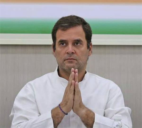 rahul gandhi demanded release of mehbooba mufti