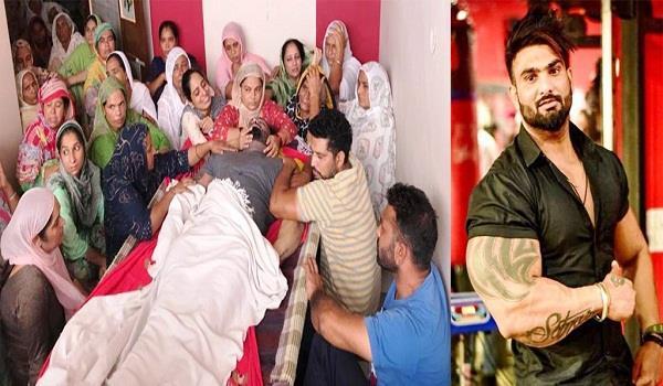 punjab famous bodybuilder satnam dies