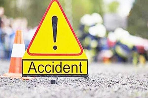a car collided with a truck parked on the roadside 2 brothers died