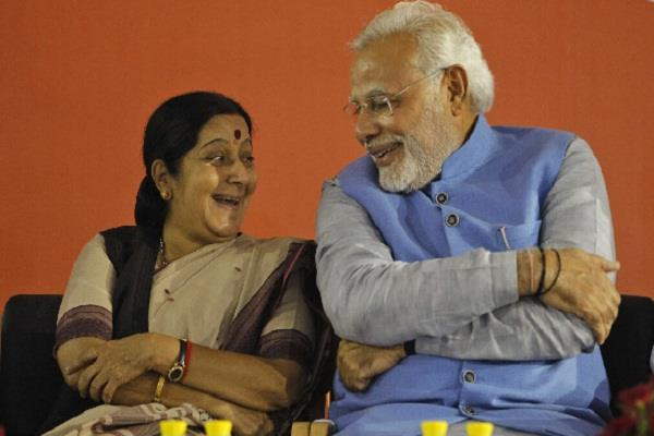 bjp salutes sushma swaraj as india strong voice
