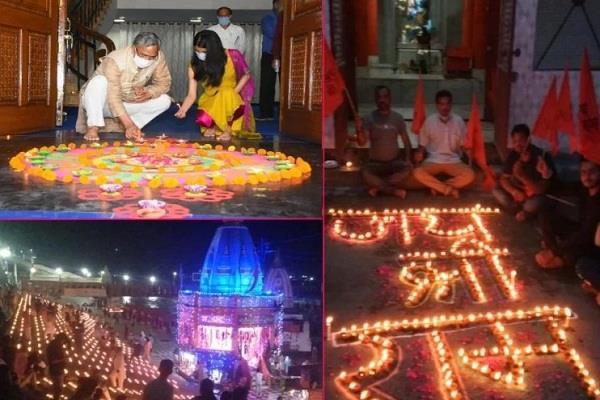 diwali celebrated in uttarakhand