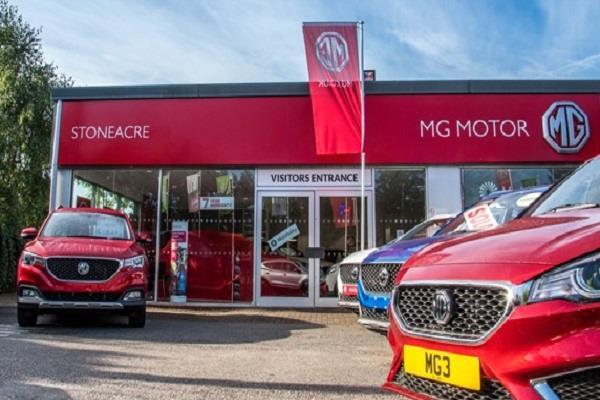 mg motor sales rose 40 percent in july