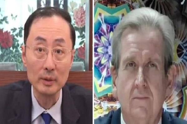 australia china envoys to india spar over south china sea